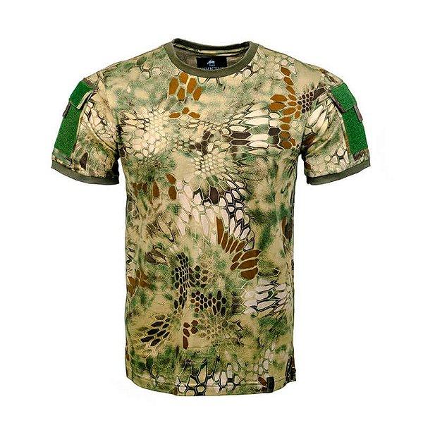 Camiseta Tática Camuflada Army Kryptek Mandrake Invictus