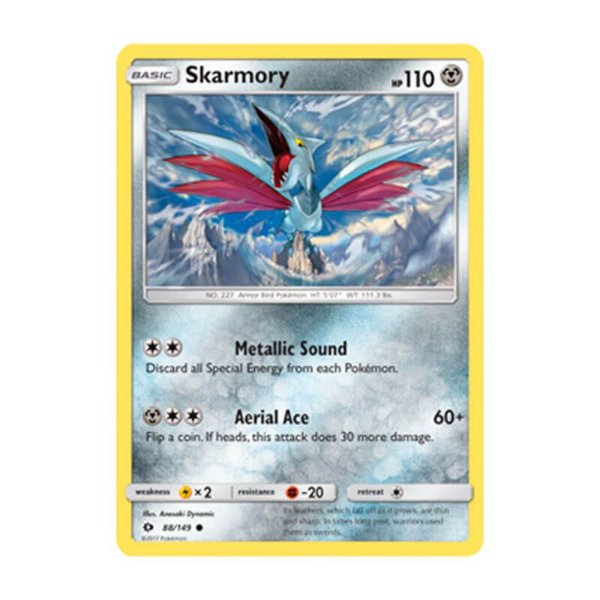 Pokémon TCG: Skarmory (88/149) - SM1 Sol e Lua