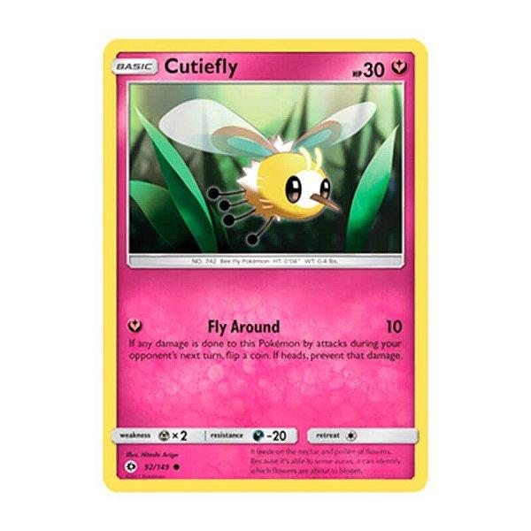 Pokémon TCG: Cutiefly (92/149) - SM1 Sol e Lua