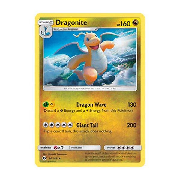 Pokémon TCG: Dragonite (96/149) - SM1 Sol e Lua