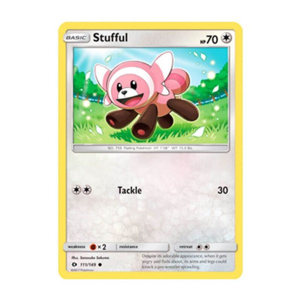 Pokémon TCG: Stufful (111/149) - SM1 Sol e Lua