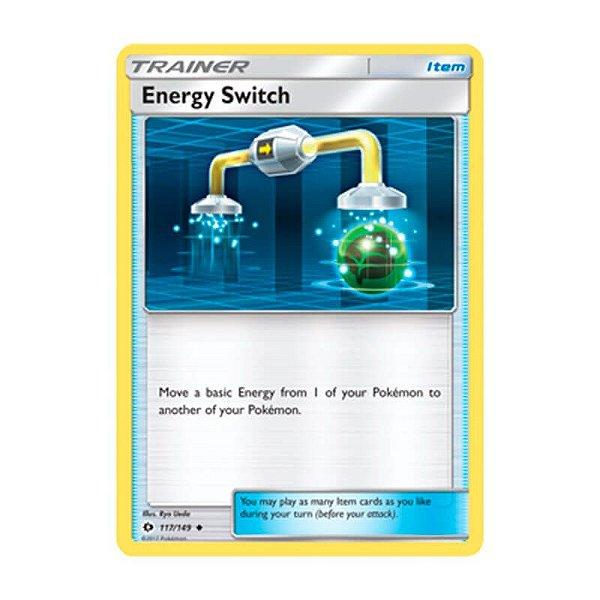 Pokémon TCG: Substituição de Energia (117/149) - SM1 Sol e Lua