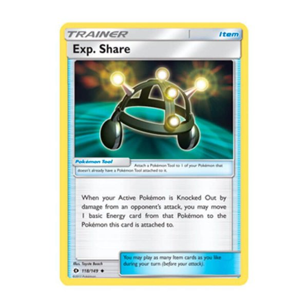 Pokémon TCG: Compart. Exp. (118/149) - SM1 Sol e Lua