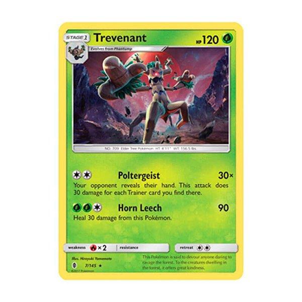 Pokémon TCG: Trevenant (7/145) - SM2 Guardiões Ascendentes