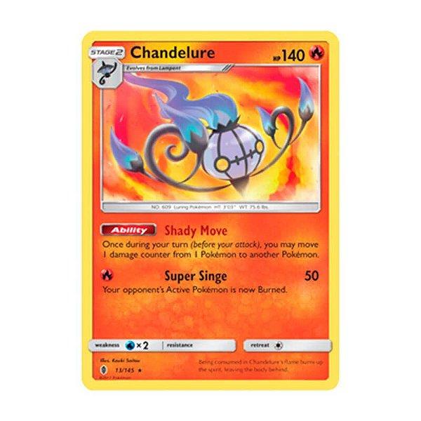Pokémon TCG: Chandelure (13/145) - SM2 Guardiões Ascendentes