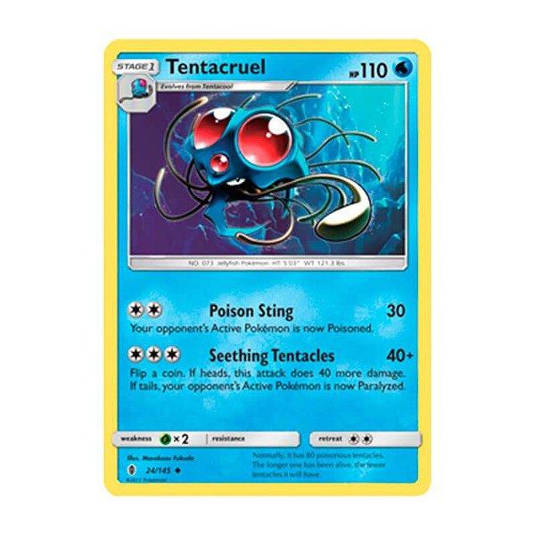 Pokémon TCG: Tentacruel (24/145) - SM2 Guardiões Ascendentes