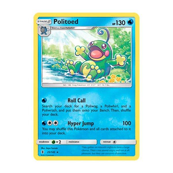 Pokémon TCG: Politoed (25/145) - SM2 Guardiões Ascendentes