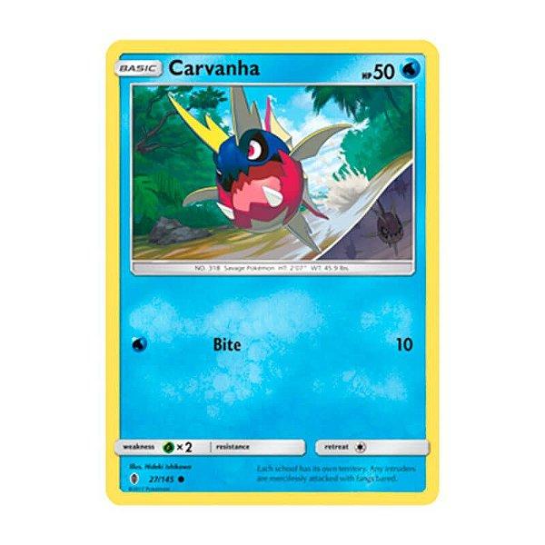 Pokémon TCG: Carvanha (27/145) - SM2 Guardiões Ascendentes