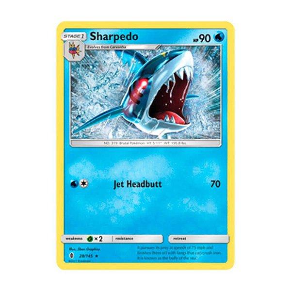 Pokémon TCG: Sharpedo (28/145) - SM2 Guardiões Ascendentes