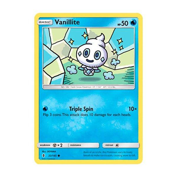 Pokémon TCG: Vanillite (33/145) - SM2 Guardiões Ascendentes