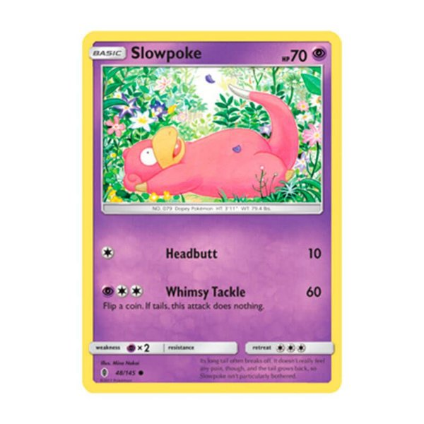 Pokémon TCG: Slowpoke (48/145) - SM2 Guardiões Ascendentes
