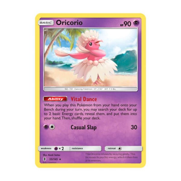 Pokémon TCG: Oricorio (55/145) - SM2 Guardiões Ascendentes