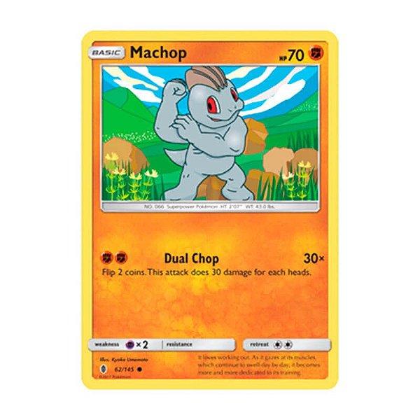 Pokémon TCG: Machop (62/145) - SM2 Guardiões Ascendentes