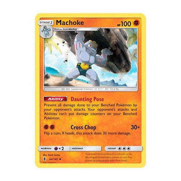Pokémon TCG: Machoke (64/145) - SM2 Guardiões Ascendentes