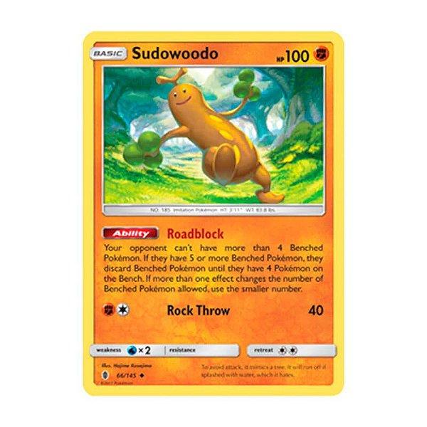 Pokémon TCG: Sudowoodo (66/145) - SM2 Guardiões Ascendentes