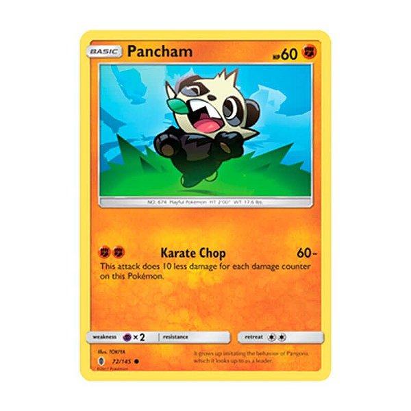 Pokémon TCG: Pancham (72/145) - SM2 Guardiões Ascendentes