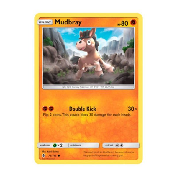 Pokémon TCG: Mudbray (75/145) - SM2 Guardiões Ascendentes