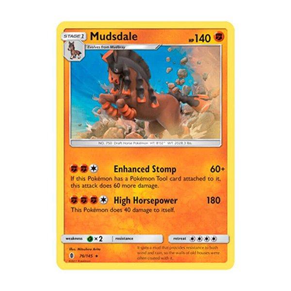 Pokémon TCG: Mudsdale (76/145) - SM2 Guardiões Ascendentes