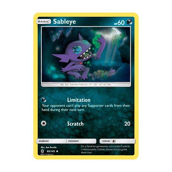 Pokémon TCG: Sableye (80/145) - SM2 Guardiões Ascendentes