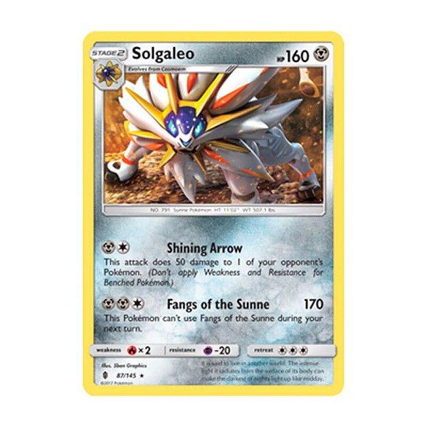 Pokémon TCG: Solgaleo (87/145) - SM2 Guardiões Ascendentes