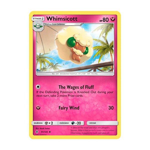 Pokémon TCG: Whimsicott (91/145) - SM2 Guardiões Ascendentes