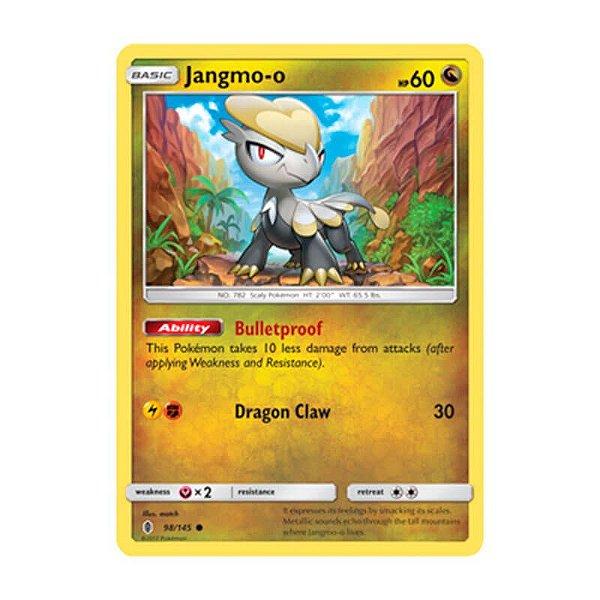 Pokémon TCG: Jangmo-o (98/145) - SM2 Guardiões Ascendentes