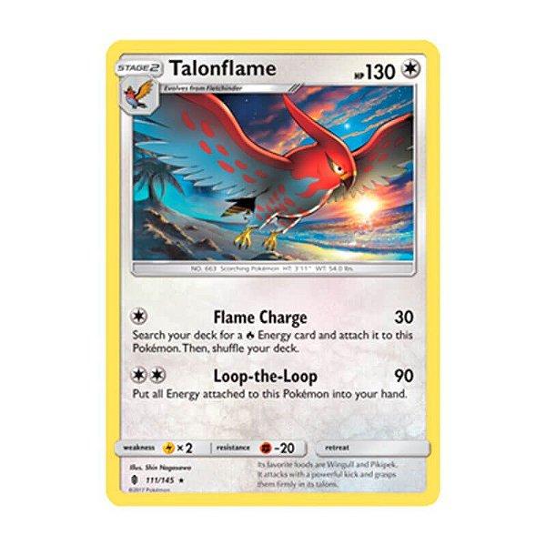 Pokémon TCG: Talonflame (111/145) - SM2 Guardiões Ascendentes