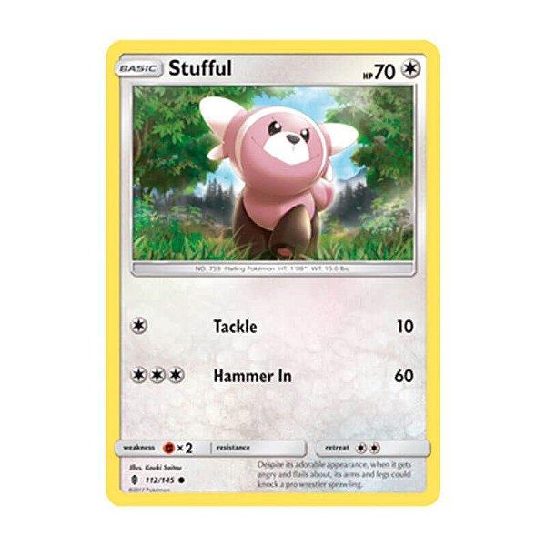 Pokémon TCG: Stufful (112/145) - SM2 Guardiões Ascendentes