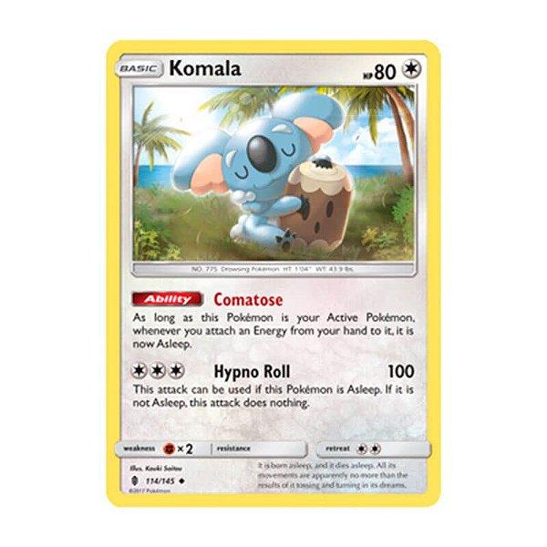 Pokémon TCG: Komala (114/145) - SM2 Guardiões Ascendentes