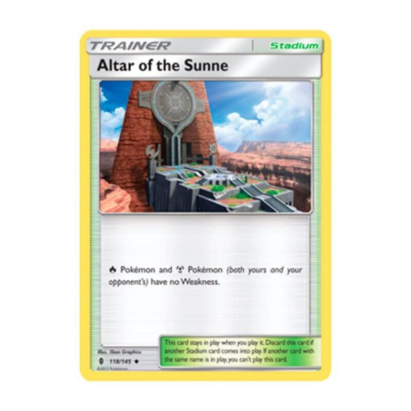 Pokémon TCG: Altar Solar (118/145) - SM2 Guardiões Ascendentes