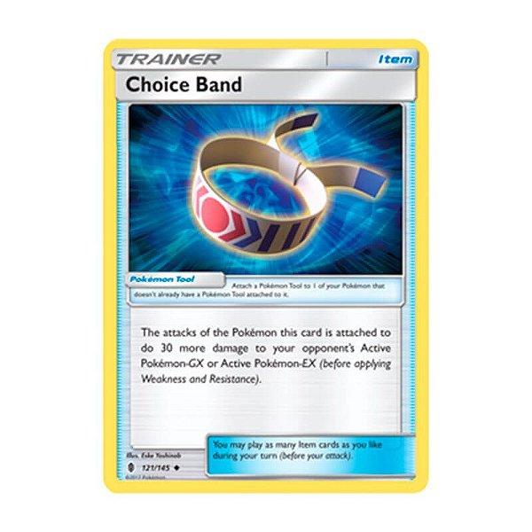 Pokémon TCG: Faixa de Escolha (121/145) - SM2 Guardiões Ascendentes