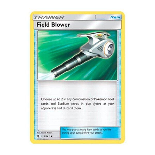 Pokémon TCG: Ventilador de Campo (125/145) - SM2 Guardiões Ascendentes
