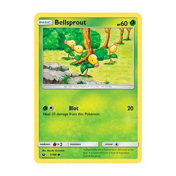 Pokémon TCG: Bellsprout (1/168) - SM7 Tempestade Celestial