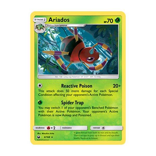 Pokémon TCG: Ariados (6/168) - SM7 Tempestade Celestial