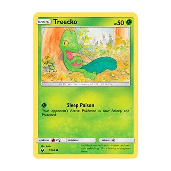 Pokémon TCG: Treecko (7/168) - SM7 Tempestade Celestial