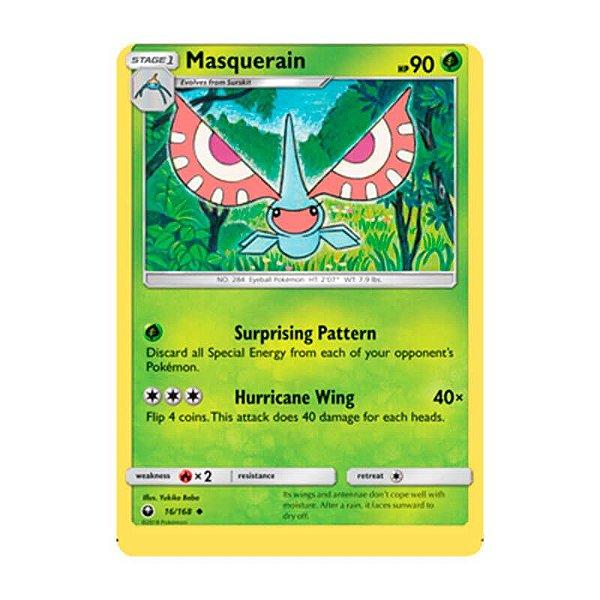 Pokémon TCG: Masquerain (16/168) - SM7 Tempestade Celestial