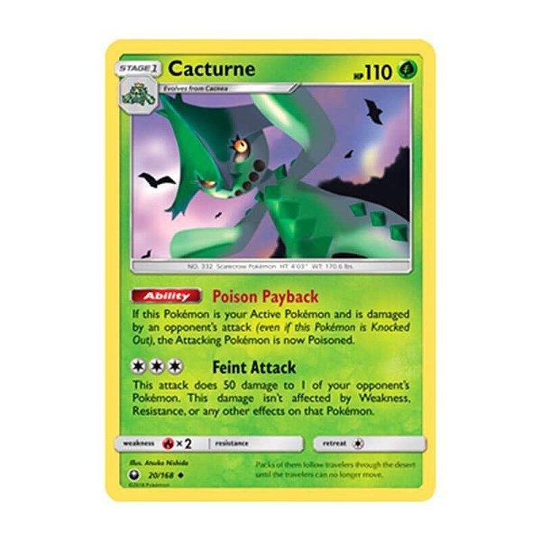 Pokémon TCG: Cacturne (20/168) - SM7 Tempestade Celestial