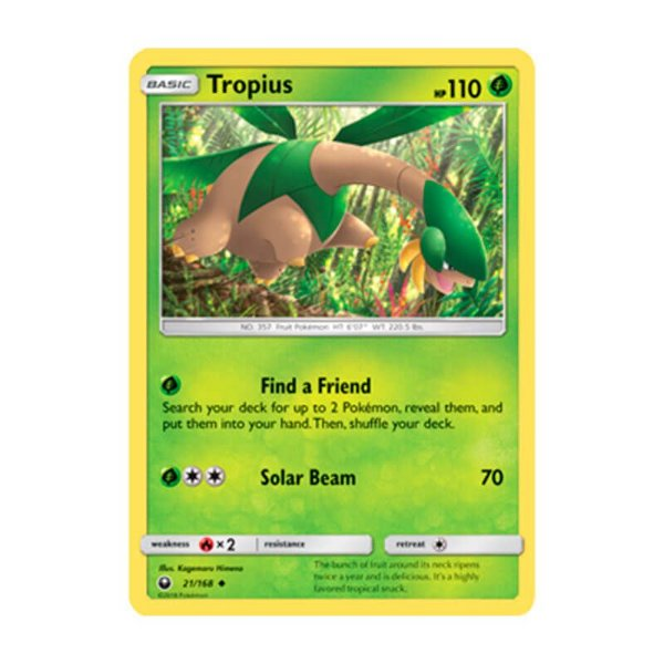 Pokémon TCG: Tropius (21/168) - SM7 Tempestade Celestial