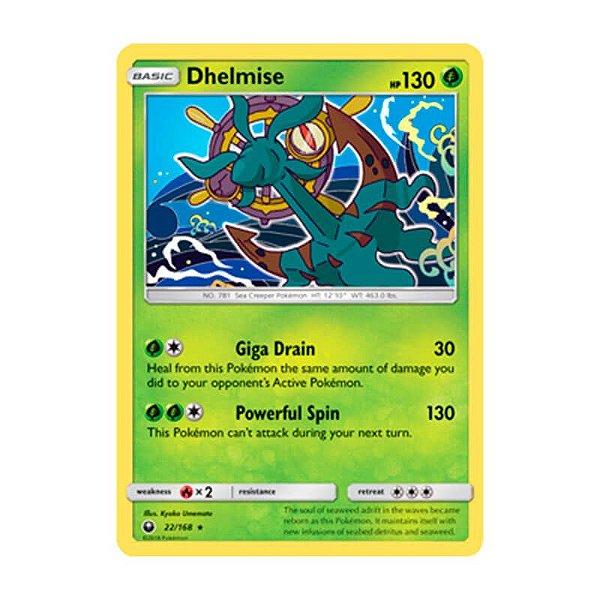 Pokémon TCG: Dhelmise (22/168) - SM7 Tempestade Celestial