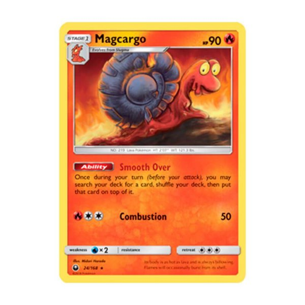 Pokémon TCG: Magcargo (24/168) - SM7 Tempestade Celestial