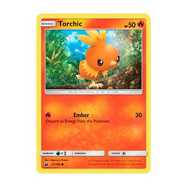 Pokémon TCG: Torchic (25/168) - SM7 Tempestade Celestial