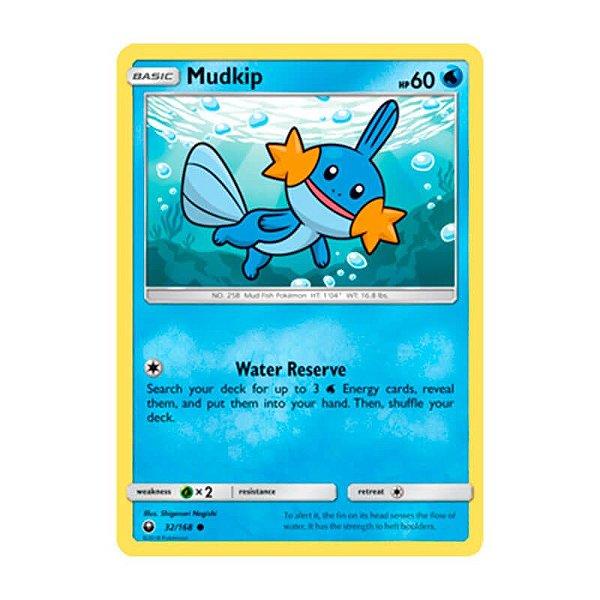Pokémon TCG: Mudkip (32/168) - SM7 Tempestade Celestial