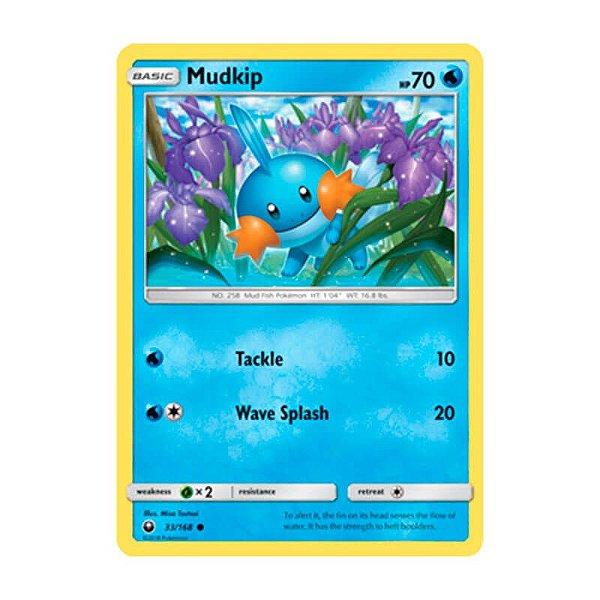 Pokémon TCG: Mudkip (33/168) - SM7 Tempestade Celestial
