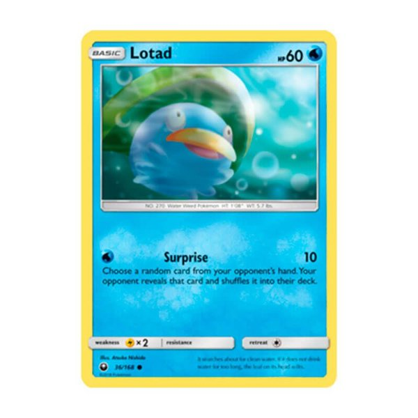 Pokémon TCG: Lotad (36/168) - SM7 Tempestade Celestial