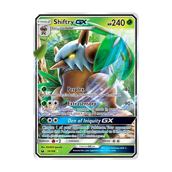 Pokémon TCG: Shiftry GX (14/168) - SM7 Tempestade Celestial