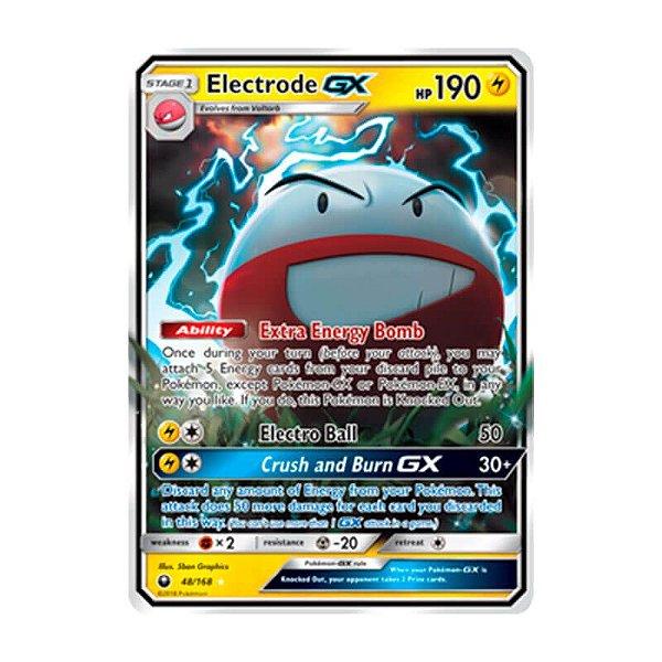 Pokémon TCG: Electrode GX (48/168) - SM7 Tempestade Celestial