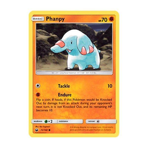 Pokémon TCG: Phanpy (72/168) - SM7 Tempestade Celestial