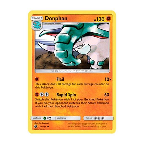 Pokémon TCG: Donphan (73/168) - SM7 Tempestade Celestial