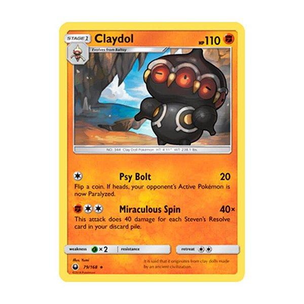 Pokémon TCG: Claydol (79/168) - SM7 Tempestade Celestial