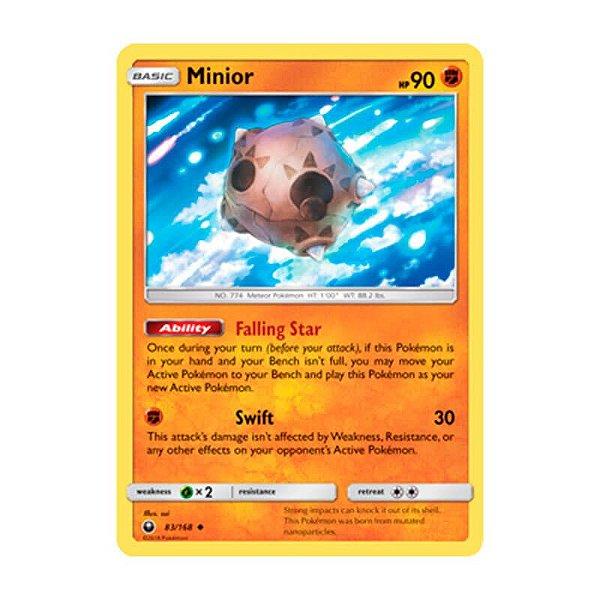 Pokémon TCG: Minior (83/168) - SM7 Tempestade Celestial